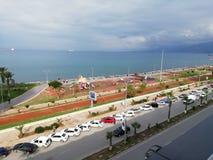 Bord de la mer d'Iskenderun photo libre de droits