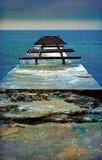 Bord de la mer d'Odessa Photos libres de droits