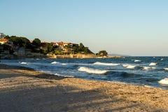 Bord de la mer dans Nessebar Photo libre de droits