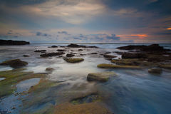 Bord de la mer de Bali Photos libres de droits