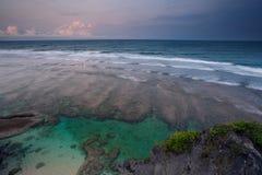 Bord de la mer de Bali Images stock