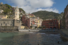 Bord de la mer de l'Italie Image stock