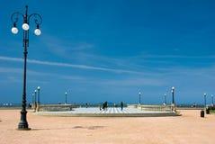 bord de la mer de Livourne Images stock