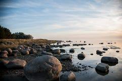 Bord de la mer de mer baltique Image stock