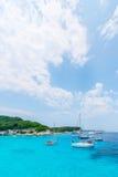 Bord de la mer de paradis Images stock