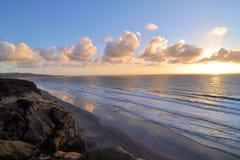 Bord de la mer de pins de Torrey Images stock
