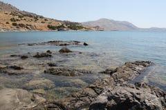 Bord de la mer de Rhodes Image libre de droits