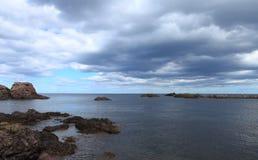 Bord de la mer (Ecosse, R-U) Photo libre de droits