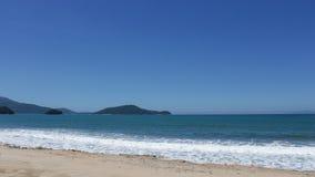 Bord de la mer et sable Image stock