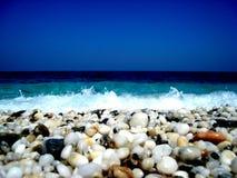Bord de la mer Grèce Photo stock