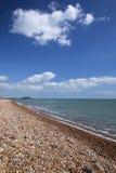 Bord de la mer le Sussex occidental R-U de plage de Brighton images libres de droits