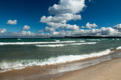 Bord de la mer national dunaire d'ours de sommeil Photo libre de droits