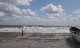 Bord de la mer de plage de tailles de bord de la mer photos libres de droits