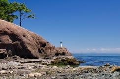Bord de la mer, réservation de parc national d'îles de Golfe Photo libre de droits