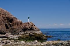Bord de la mer, réservation de parc national d'îles de Golfe Images stock