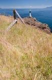 Bord de la mer, réservation de parc national d'îles de Golfe Image stock