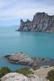 Bord de la mer rocheux Photos libres de droits