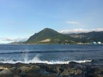 Bord de la mer de Taïwan Photos stock