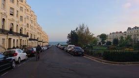 Bord de la mer de vue de Brighton photographie stock libre de droits