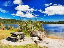 Bord de lac Image stock