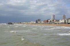 Bord de mer à Brighton sussex l'angleterre photographie stock libre de droits