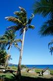 Bord de mer à Saint Paul, Reunion Island Photographie stock libre de droits