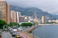 Bord de mer au Monaco image stock