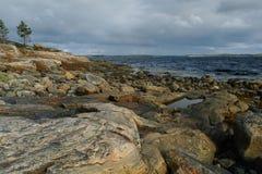 Bord de mer blanc photographie stock libre de droits