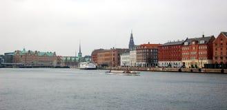 Bord de mer, Copenhague, Danemark Photo libre de droits