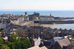Bord de mer d'Aberystwyth Images libres de droits