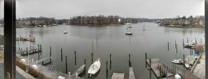 Bord de mer d'Annapolis Image stock