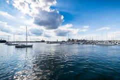 Bord de mer dans le canton dans Batimore, le Maryland Images stock