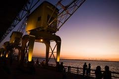 Bord de mer de Belem Photos libres de droits