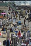 Bord de mer de Brighton. Le Sussex. Angleterre photos libres de droits