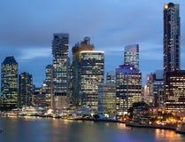 Bord de mer de Brisbane Photos libres de droits