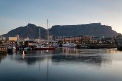 Bord de mer de Capetown V&A Images stock