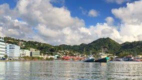 Bord de mer de Castries Photographie stock