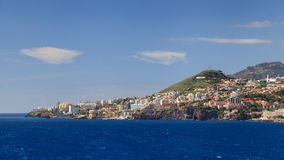 Bord de mer de Funchal Images stock