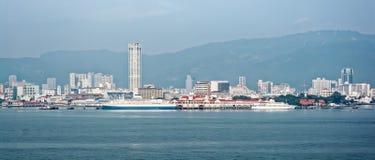 Bord de mer de George Town photographie stock libre de droits