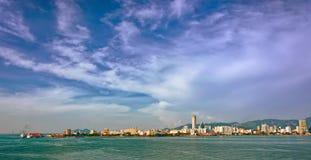 Bord de mer de George Town photos libres de droits