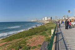 Bord de mer de Jaffa, Israël Image stock