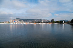 Bord de mer de Kelowna Photo stock