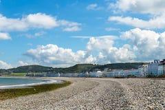 Bord de mer de Llandudno au Pays de Galles du nord, Royaume-Uni Photographie stock