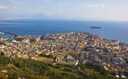 Bord de mer de Naples Photos stock