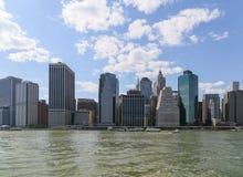 Bord de mer de New York City Image stock