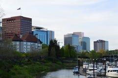 Bord de mer de Portland Photos stock
