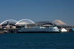 Bord de mer de Seattle image libre de droits