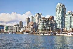 Bord de mer de Vancouver photo libre de droits