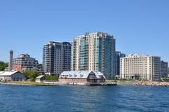 Bord de mer historique de Kingston, Ontario images stock