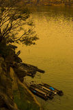 Bord de mer naturel en Thaïlande Image stock